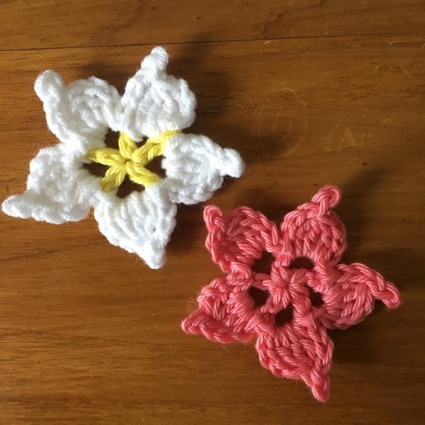 modele fleur gratuite crochet - Le coin paisible